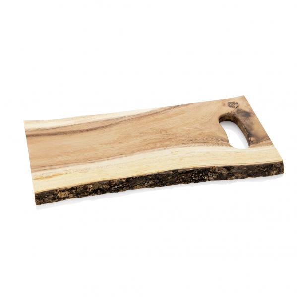 Servierbrett mit Griff, 46 x 20 cm, Holz