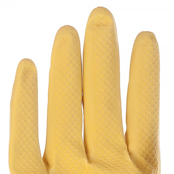 "Hygostar Universalhandschuhe ""Bettina Soft"" 10 Paar Gelb S"