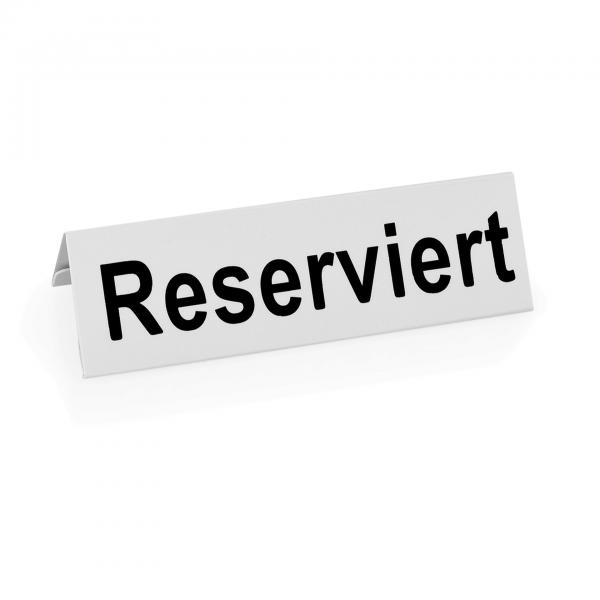 Reserviertschild, 12 x 4 x 4 cm, Kunststoff
