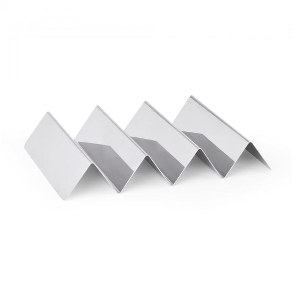 Snackwelle mit drei Ablagen, 25 x 17 x 4,5 cm, Chromnickelstahl
