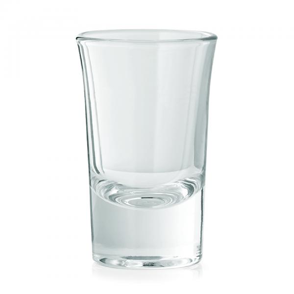 Schnapsglas, 0,04 ltr., geeicht 0,02 ltr.