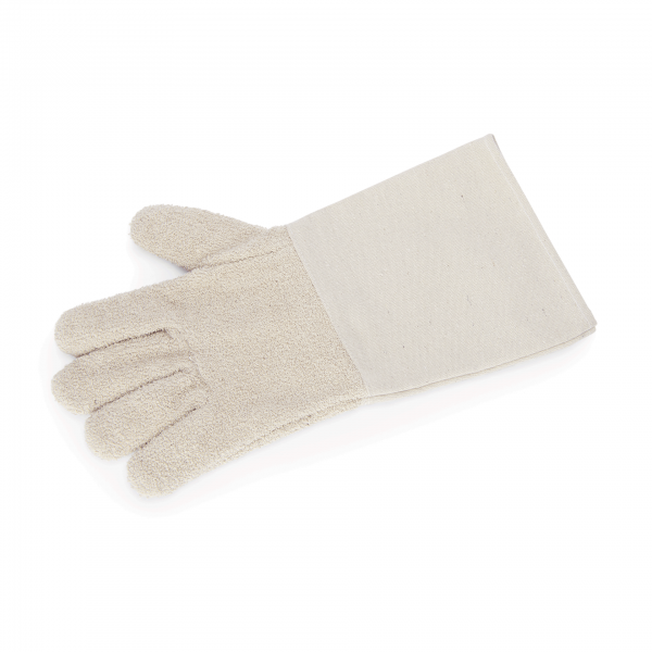 Hitzefingerhandschuhe, 36 cm, Baumwolle