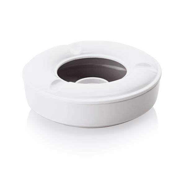 Windaschenbecher, Ø 12,5 cm, weiß, Melamin