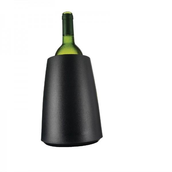 Vacu-Vin Flaschenkühler schwarz