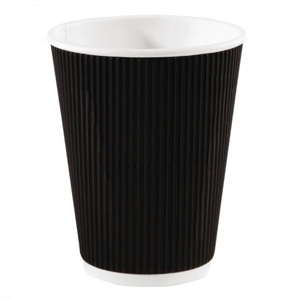 Fiesta To Go Kaffeebecher Wellpappe schwarz 34cl 500 Stück