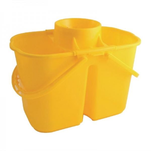 Jantex doppelter Moppeimer gelb 7L + 8L