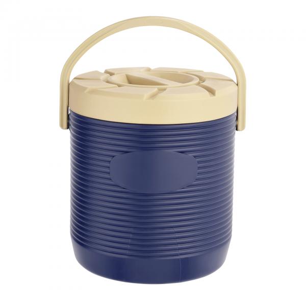 Thermospeisetransportbehälter, 18 ltr., blau, mit PU-Isolierung