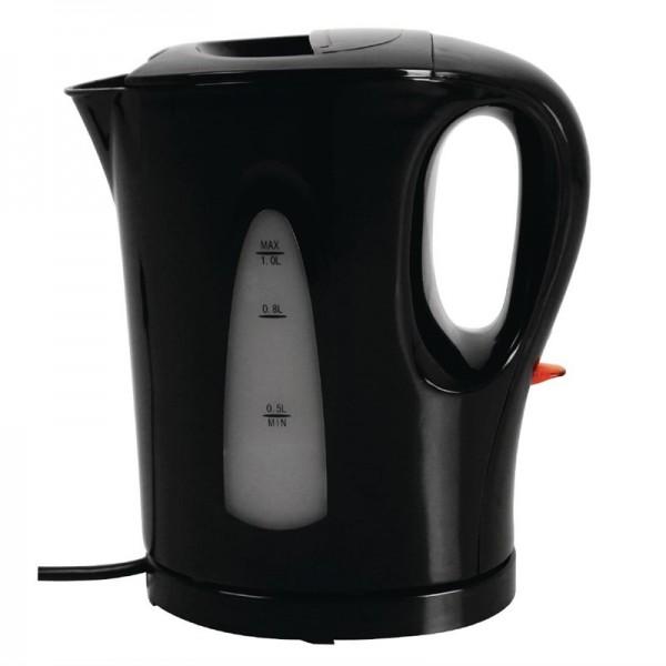 Caterlite Wasserkocher schwarz 1L