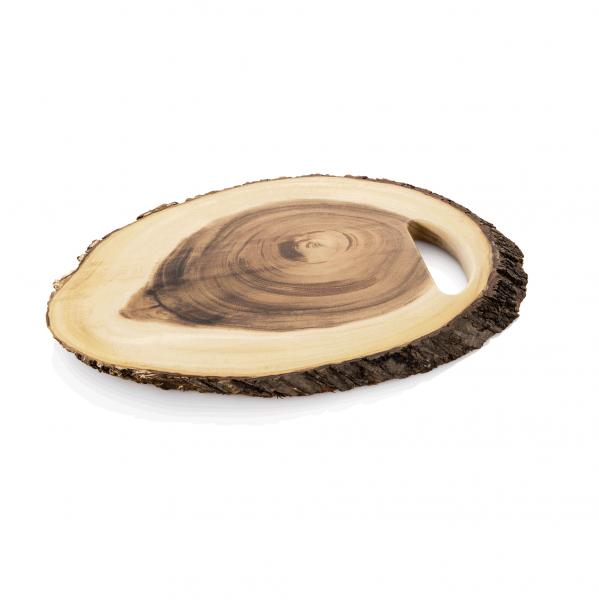 Servierbrett mit Griffloch, 46 x 30 cm, Holz