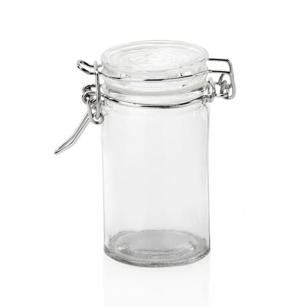 Petit-Bügelverschlussglas, 0,10 ltr., Ø 4,5 cm, Glas